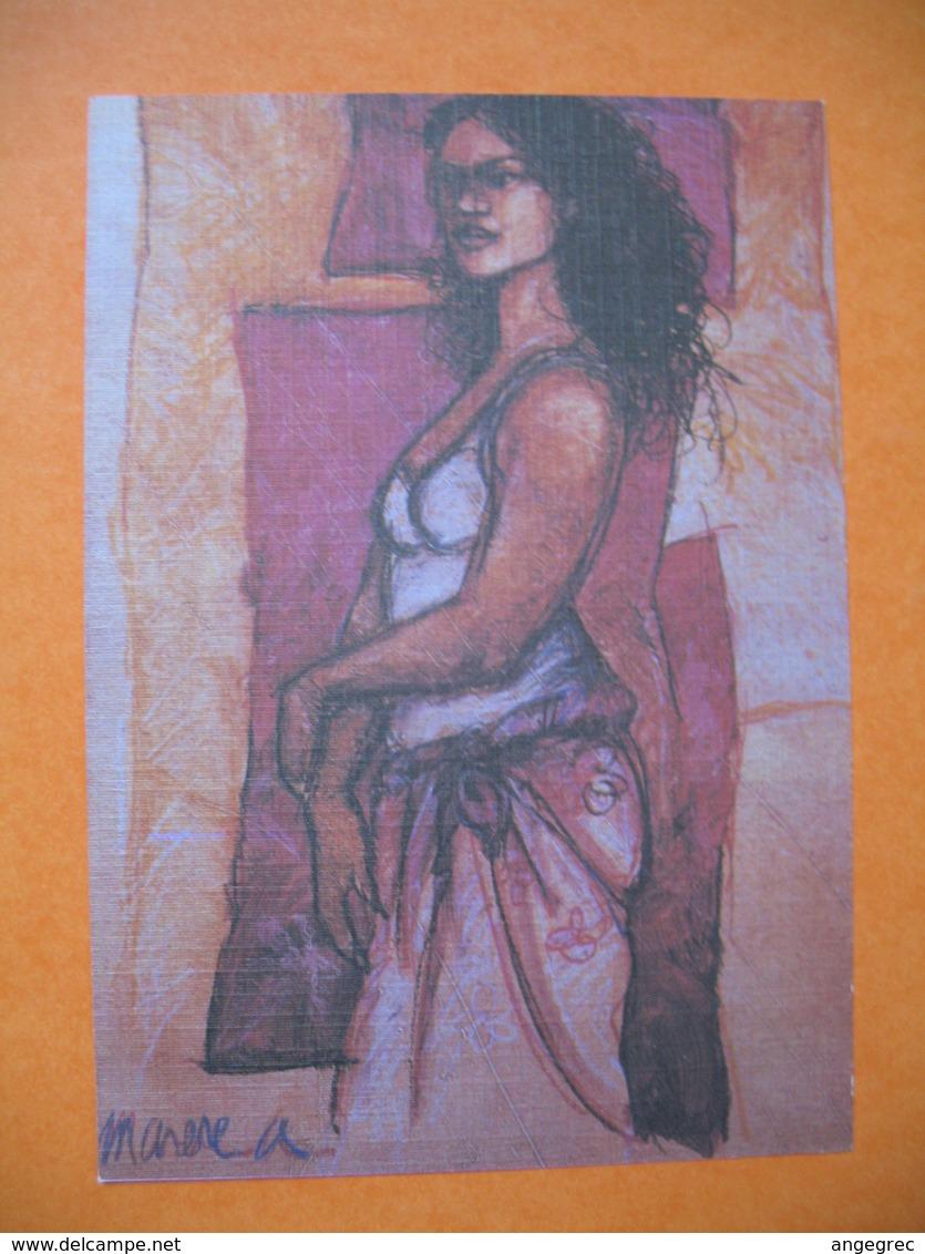 Polynésie Française - Artistes Peintures En Polynésie  A. Marere  à Voir - Polynésie Française