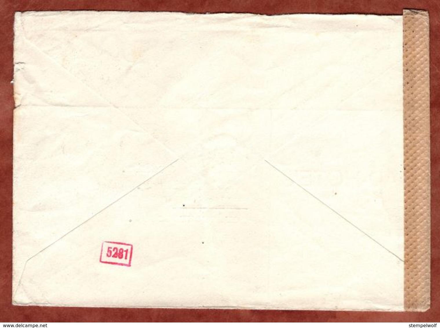 Brief, EF Rheinfall Schaffhausen, Flueh Nach Muellheim, OKW-Zensur 1943 (71635) - Covers & Documents