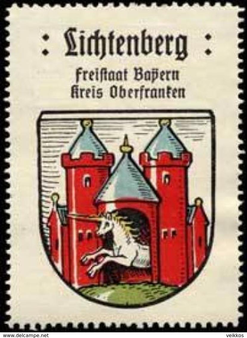 Bremen: Lichtenberg Reklamemarke - Cinderellas