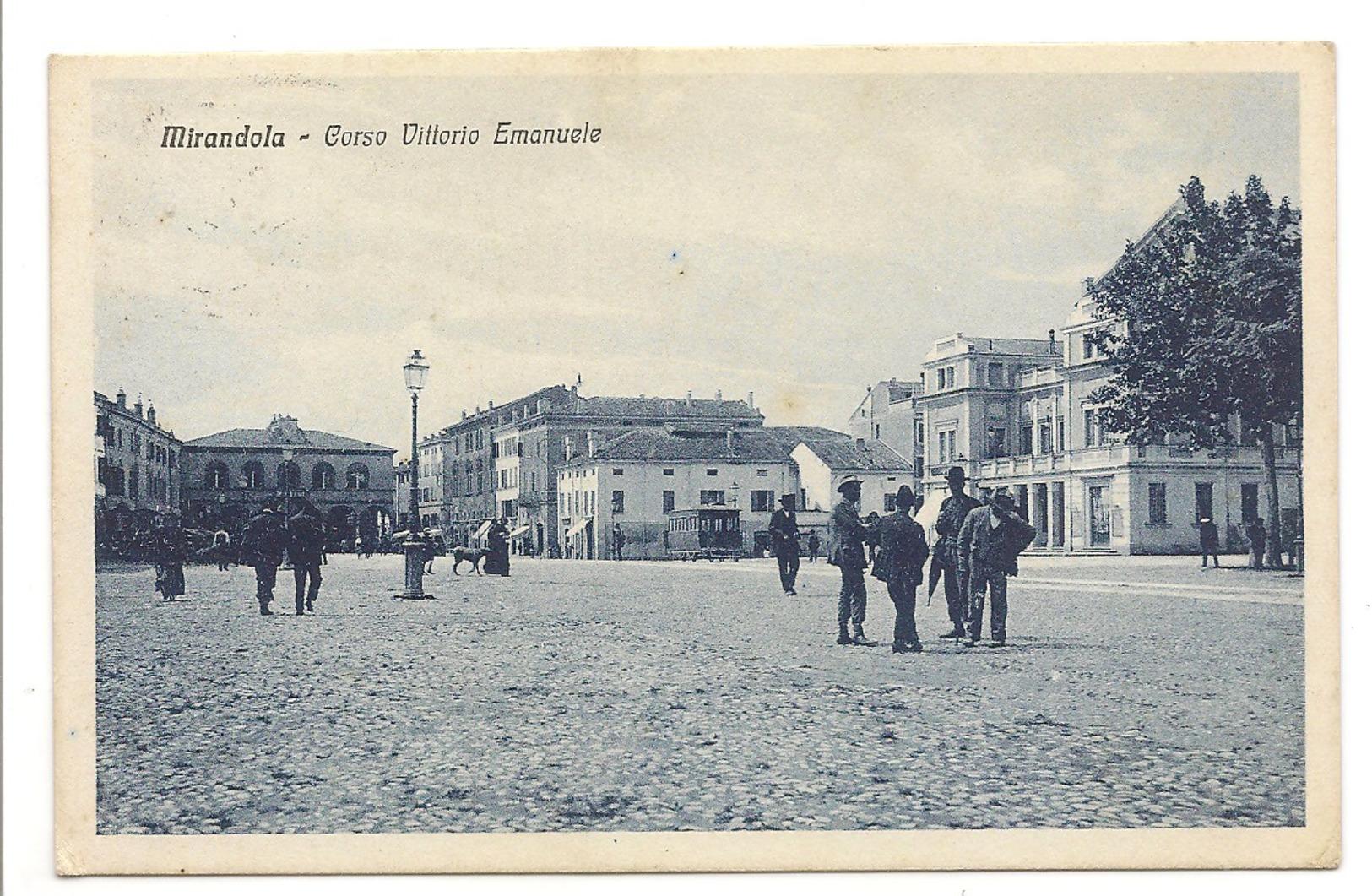 MIRANDOLA - CORSO VITTORIO EMANUELE - Modena