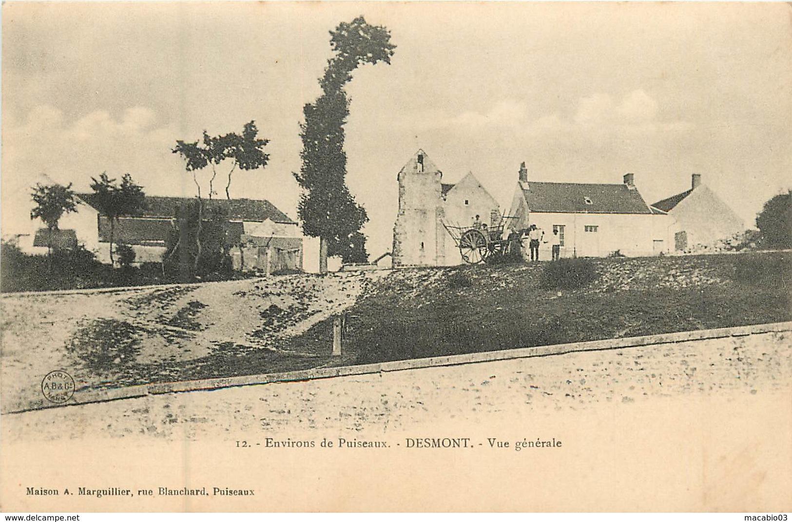 45 Loiret : Desmont Environs De Puiseaux- Vue Générale    Réf 6036 - France