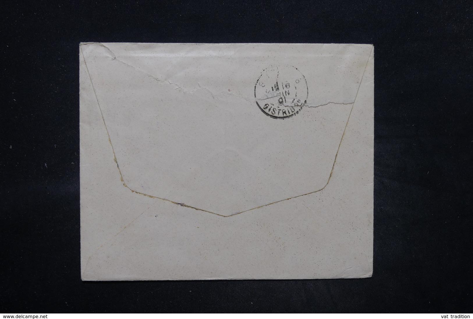 DANEMARK - Enveloppe Pour Paris En 1901 , Affranchissement Plaisant - L 26558 - 1864-04 (Christian IX)