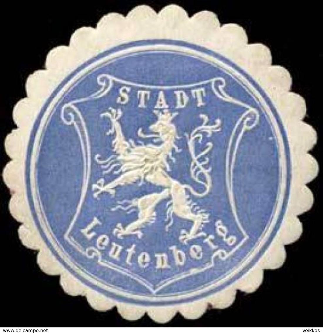 Leutenberg: Stadt Leutenberg Siegelmarke - Cinderellas