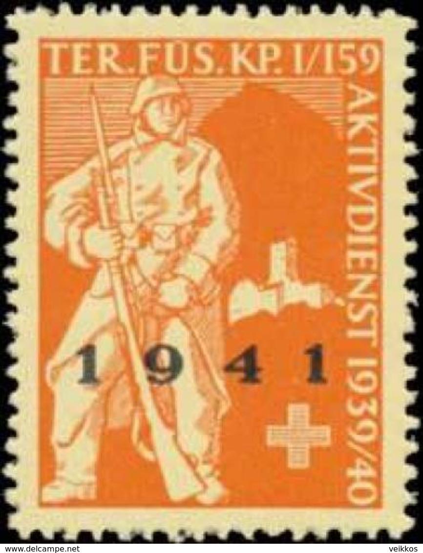 Territorial Füsilier Kp. I/159 Reklamemarke - Cinderellas