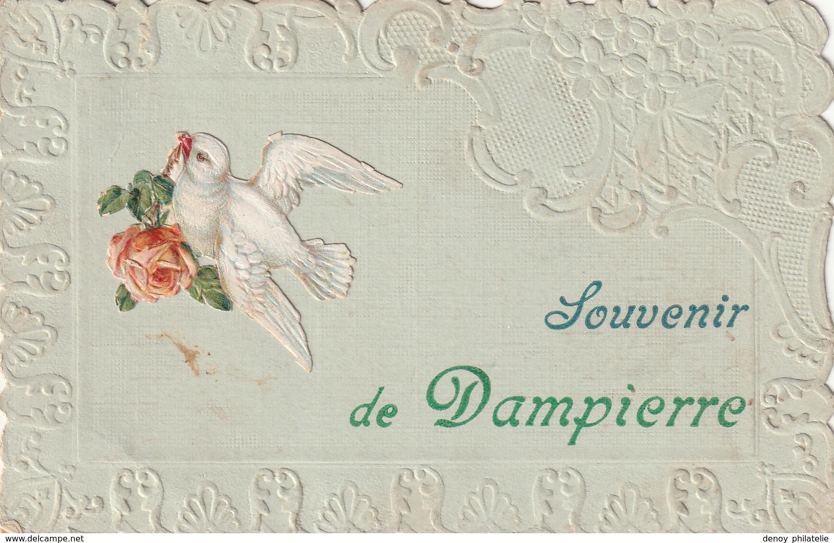 14/ Souvenir De Dampierre - Cachet De Depart Calvados - 1909 - France