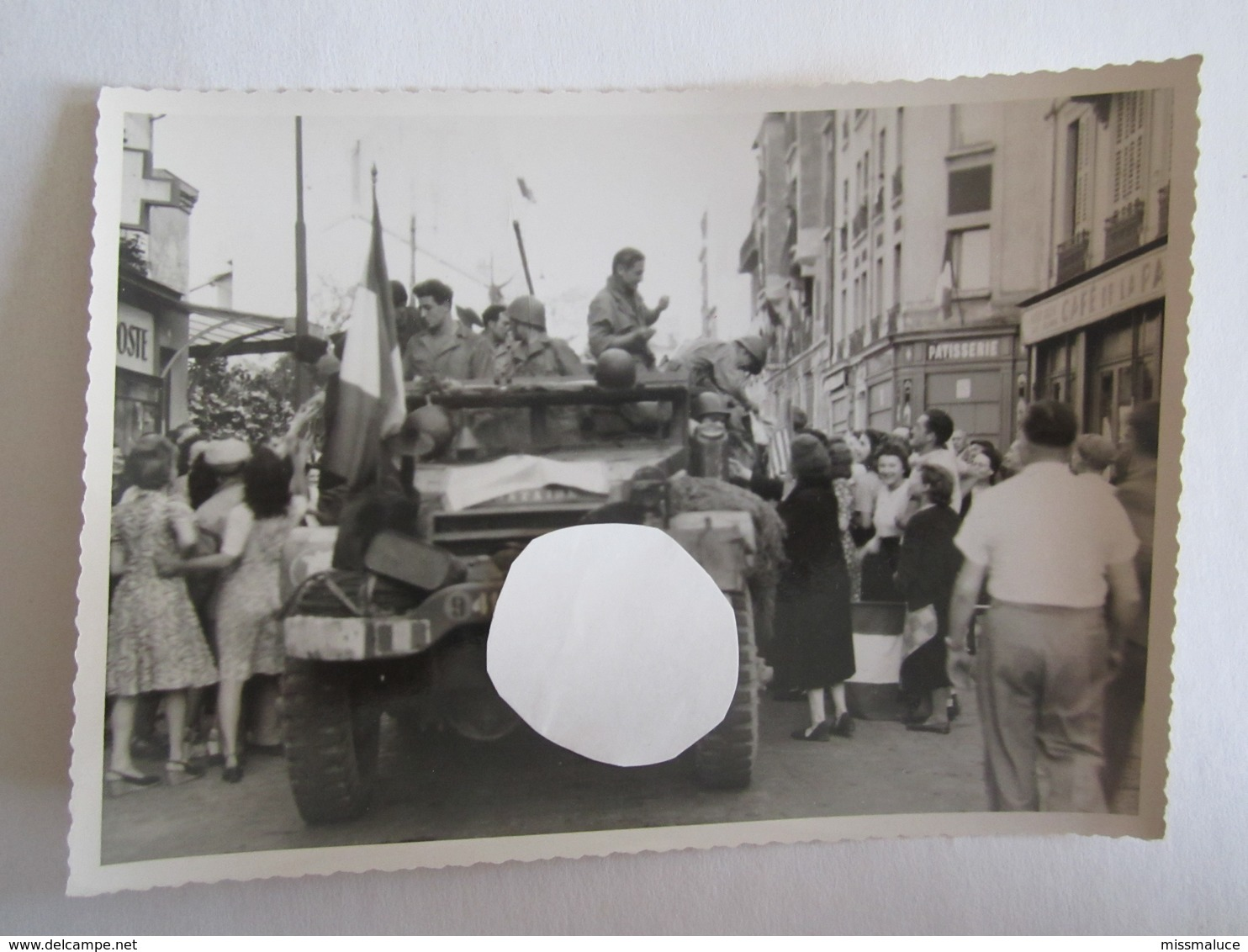 Militaire Militaria Photo Photos Véhicule Américain Libération France 1944 Clamart Chevreuse Villacoublay - Krieg, Militär