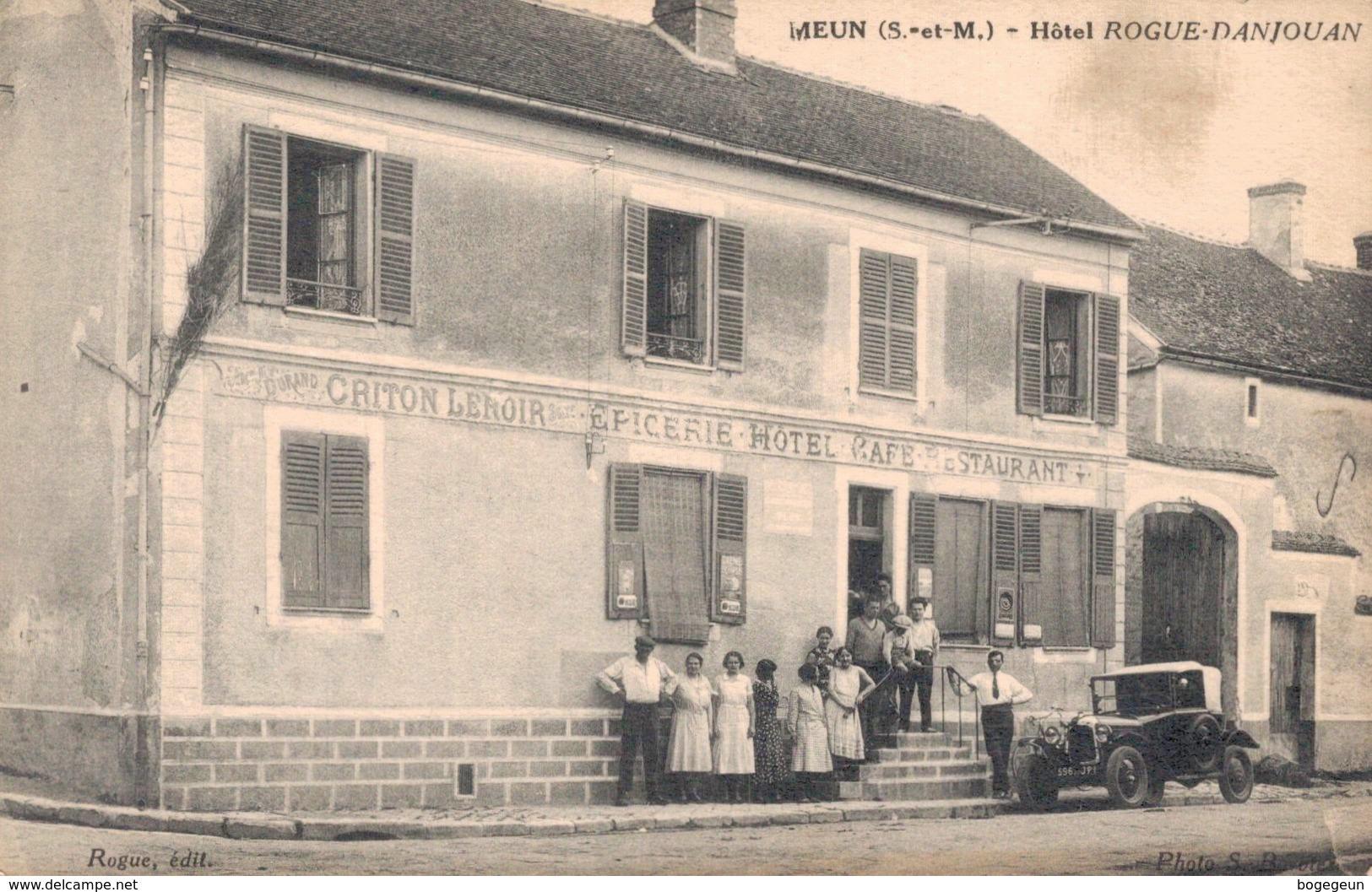 77 MEUN Hôtel Rogue Danjouan - France