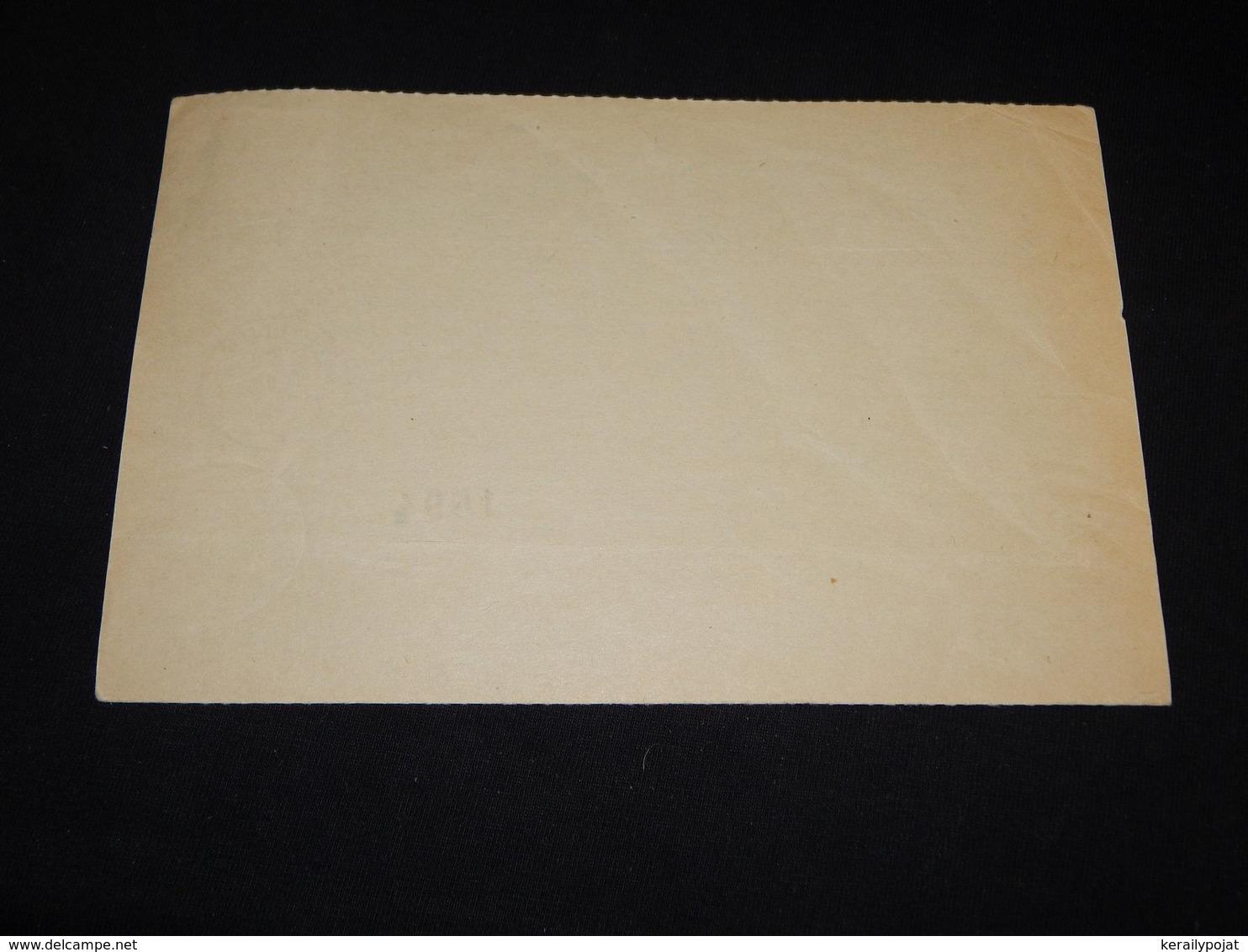Denmark 1959 Billum Parcel Card__(L-28448) - Denmark