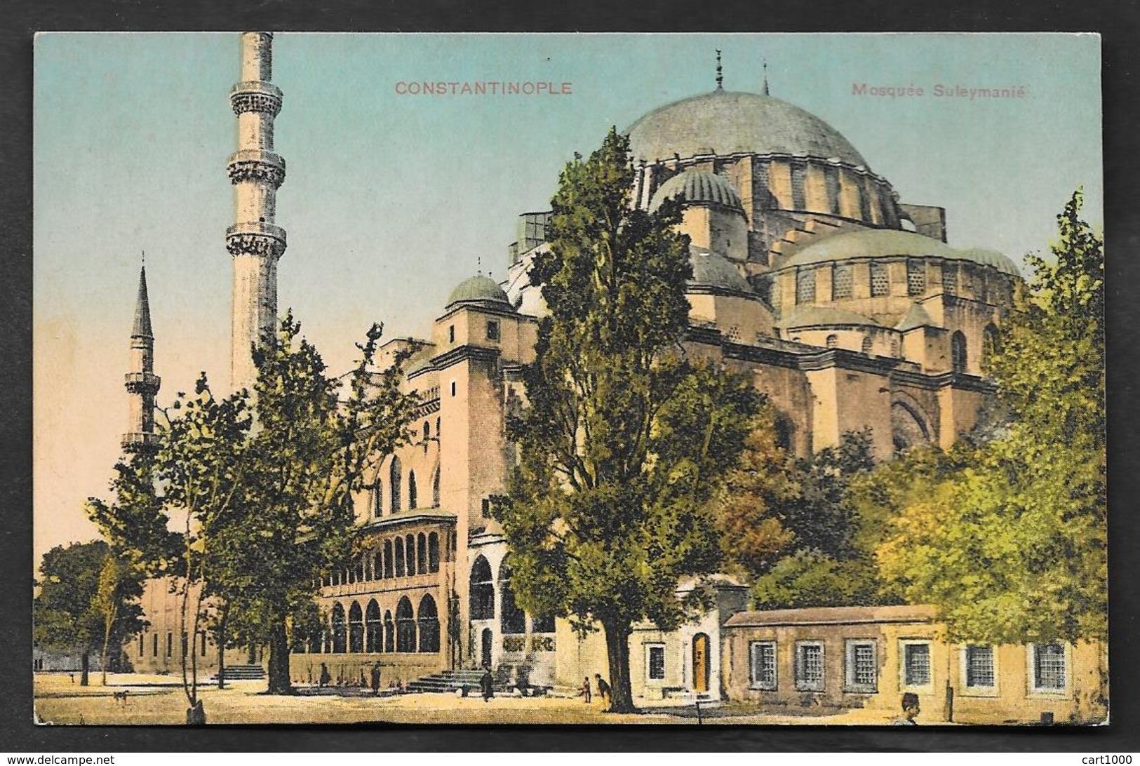 CONSTANTINOPLE MOSQUEE SULEYMANIE UNUSED - Turchia