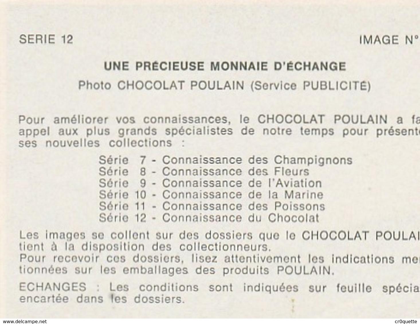 CHOCOLAT POULAIN - LOT DE 10 IMAGES SERIE 12 CONNAISSANCE DU CHOCOLAT - Old Paper
