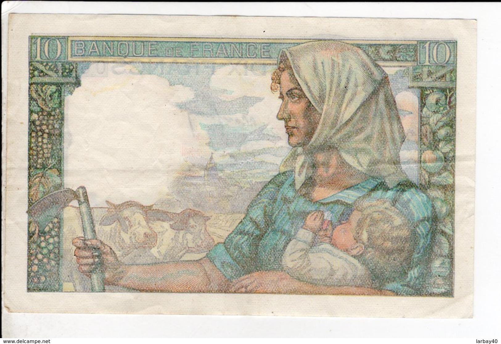 Billet De 10 Francs Mineur Du 7 4  1949 - 1871-1952 Circulated During XXth