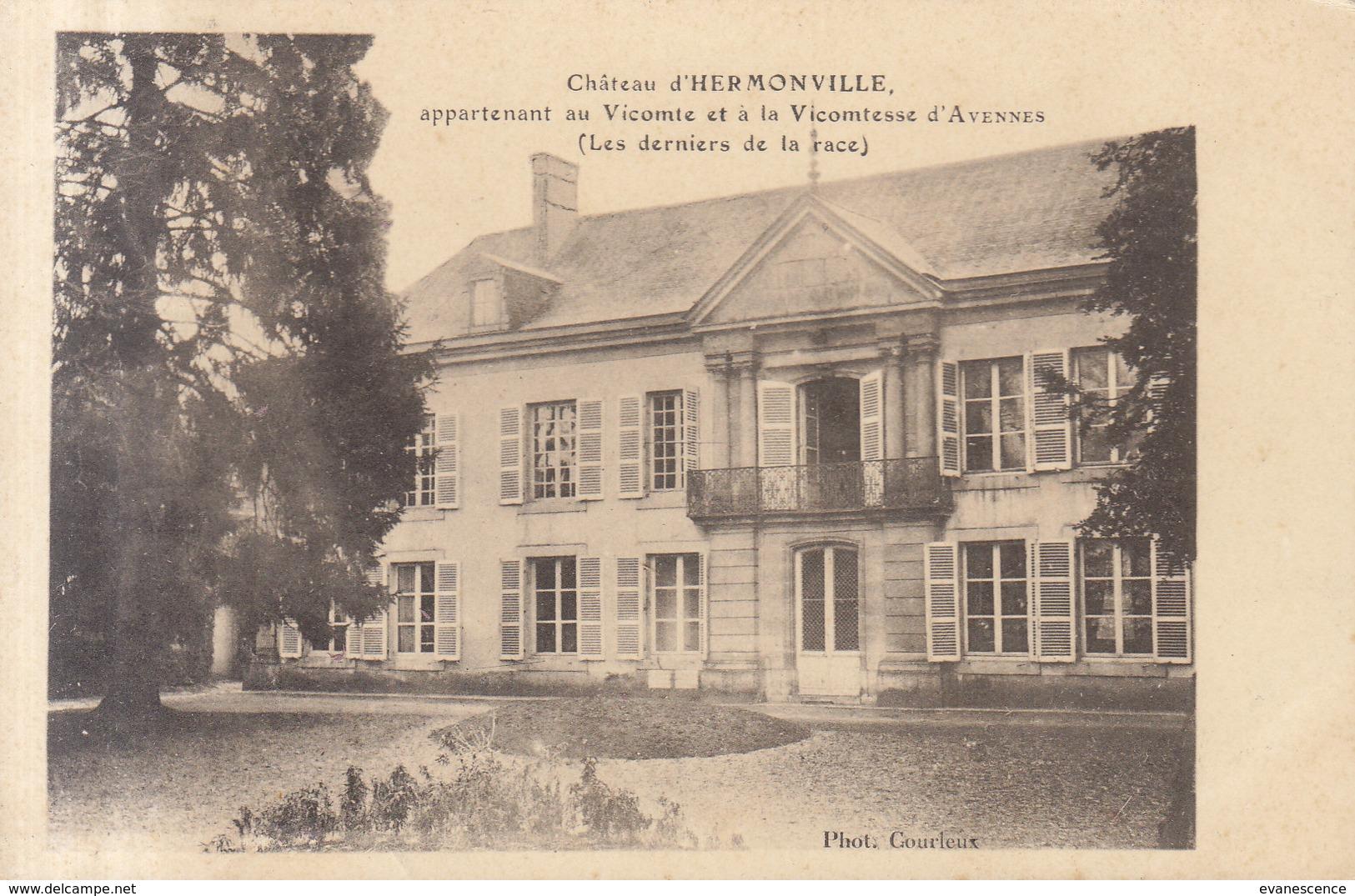 51  HERMONVILLE      /// REF   AVRIL. 19 ///   BO. 51 - France