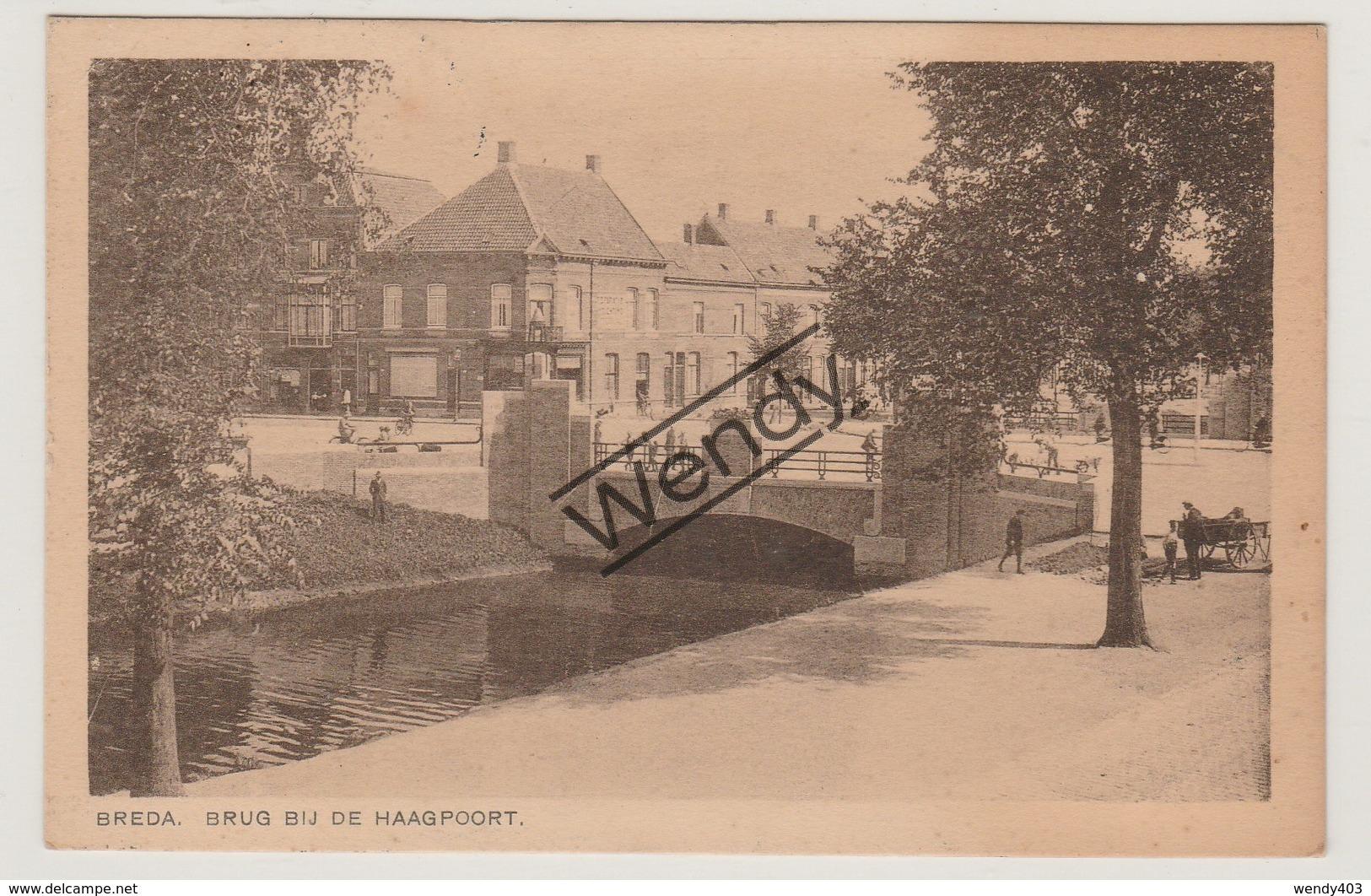 Breda - Brug Bij De Haagpoort - Breda