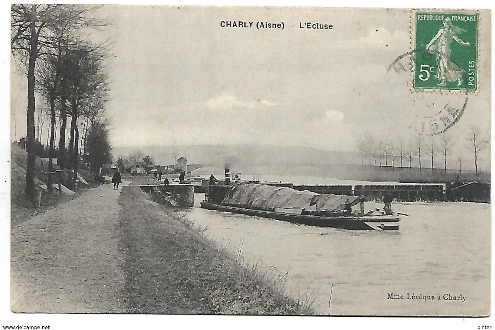 CHARLY SUR MARNE - L'Ecluse - PENICHE - France