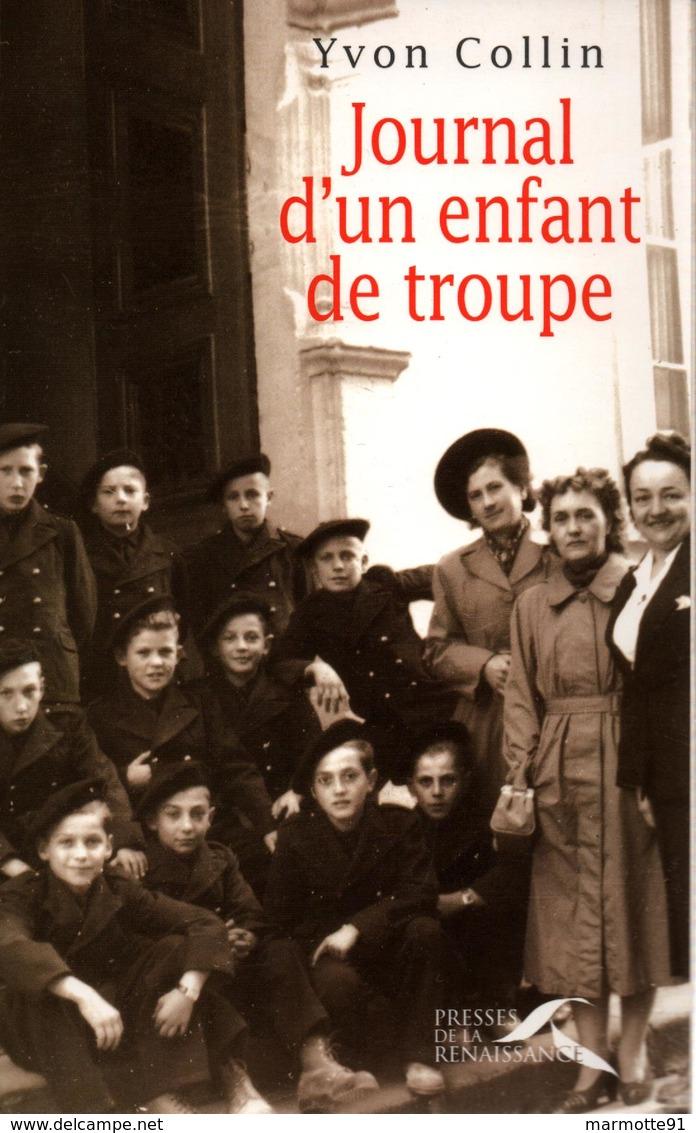 JOURNAL D UN ENFANT DE TROUPE AET RECIT - Boeken
