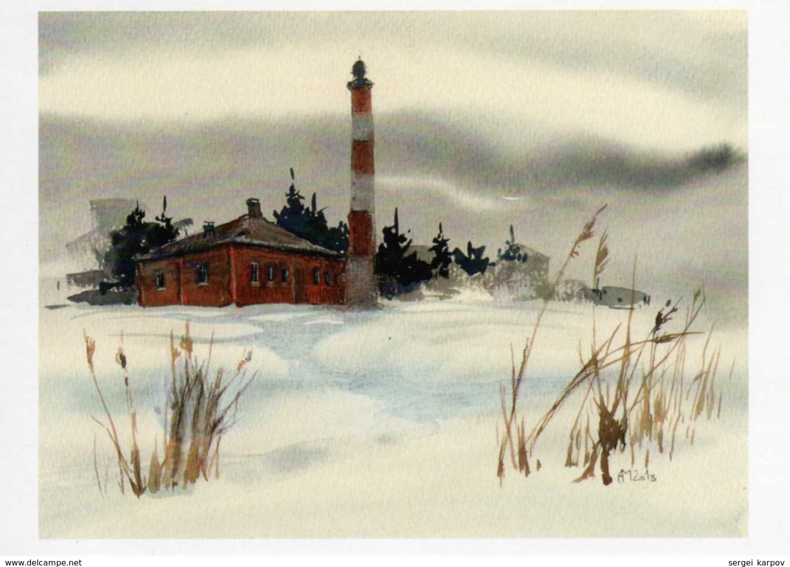 Lighthouses Of The North Of Russia, Set Of Postcards. - Lighthouses