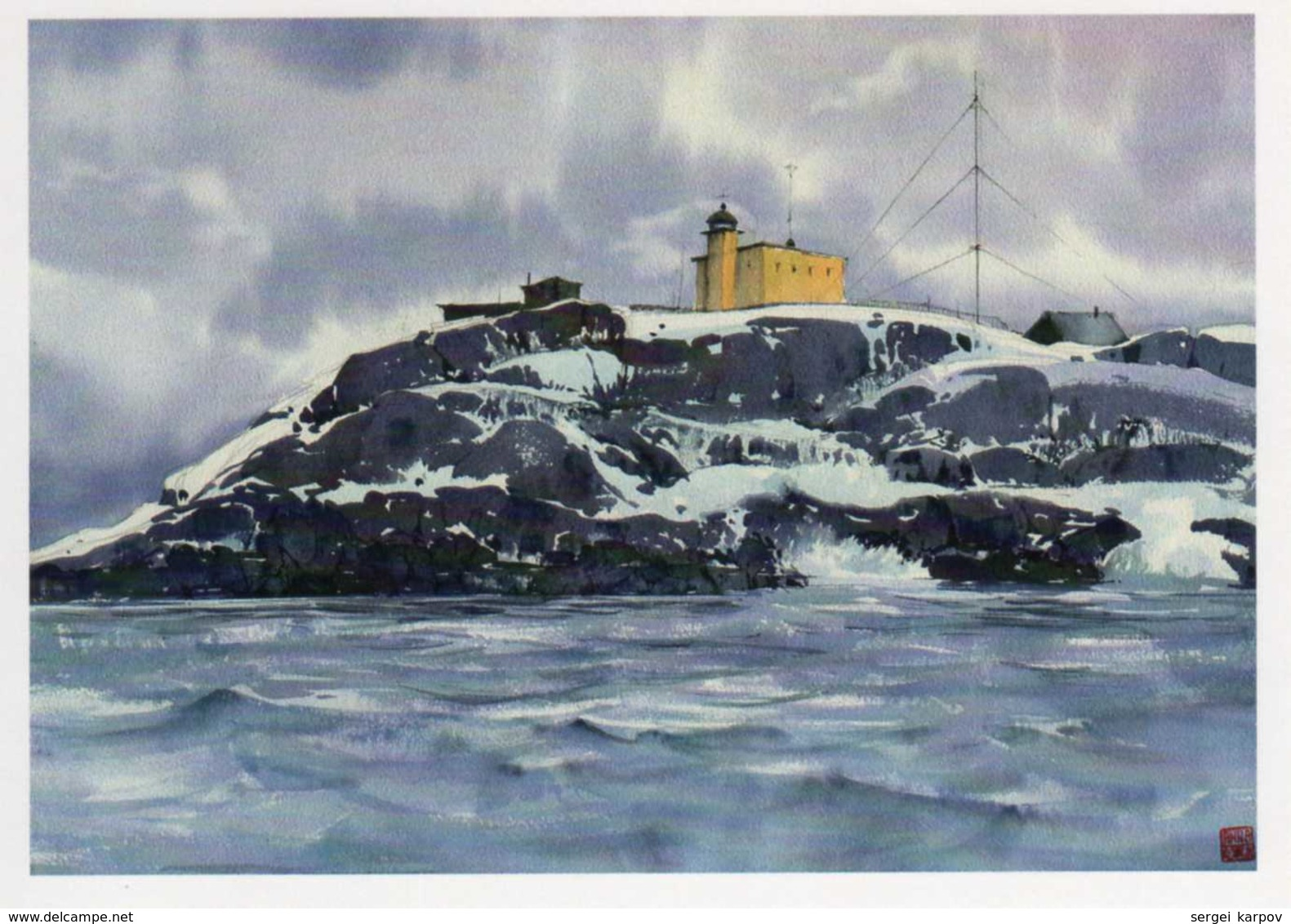 Lighthouses Of The Northern Seas, Set Of Postcards. - Lighthouses