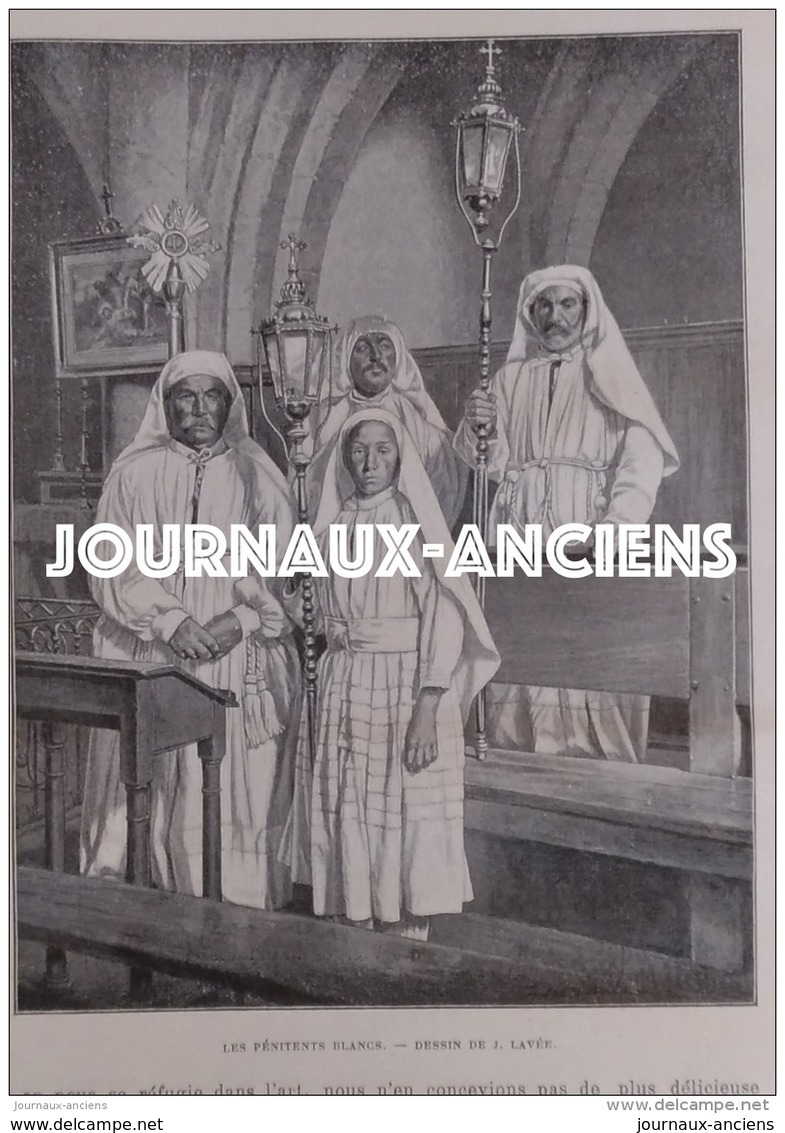 1900 SAINT GUILHEM LE DÉSERT - LE CIRQUE - ABSIDE DE L'ÉGLISE - LES PÉNITENTS BLANCS - L'HERAULT - CHATEAU DU GÉANT - Livres, BD, Revues