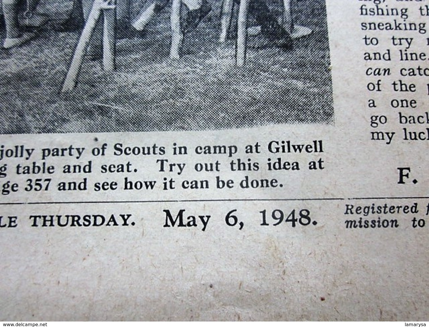 05/1948--THE SCOUT FOUNDED LORD BADEN-POWELL-OFFICIAL-ORGAN-BOY-SCOUT-SCOUTING-SCOUTISME-JAMBOREE-SCRAPBOOK-ADVERTISSING - Scouting