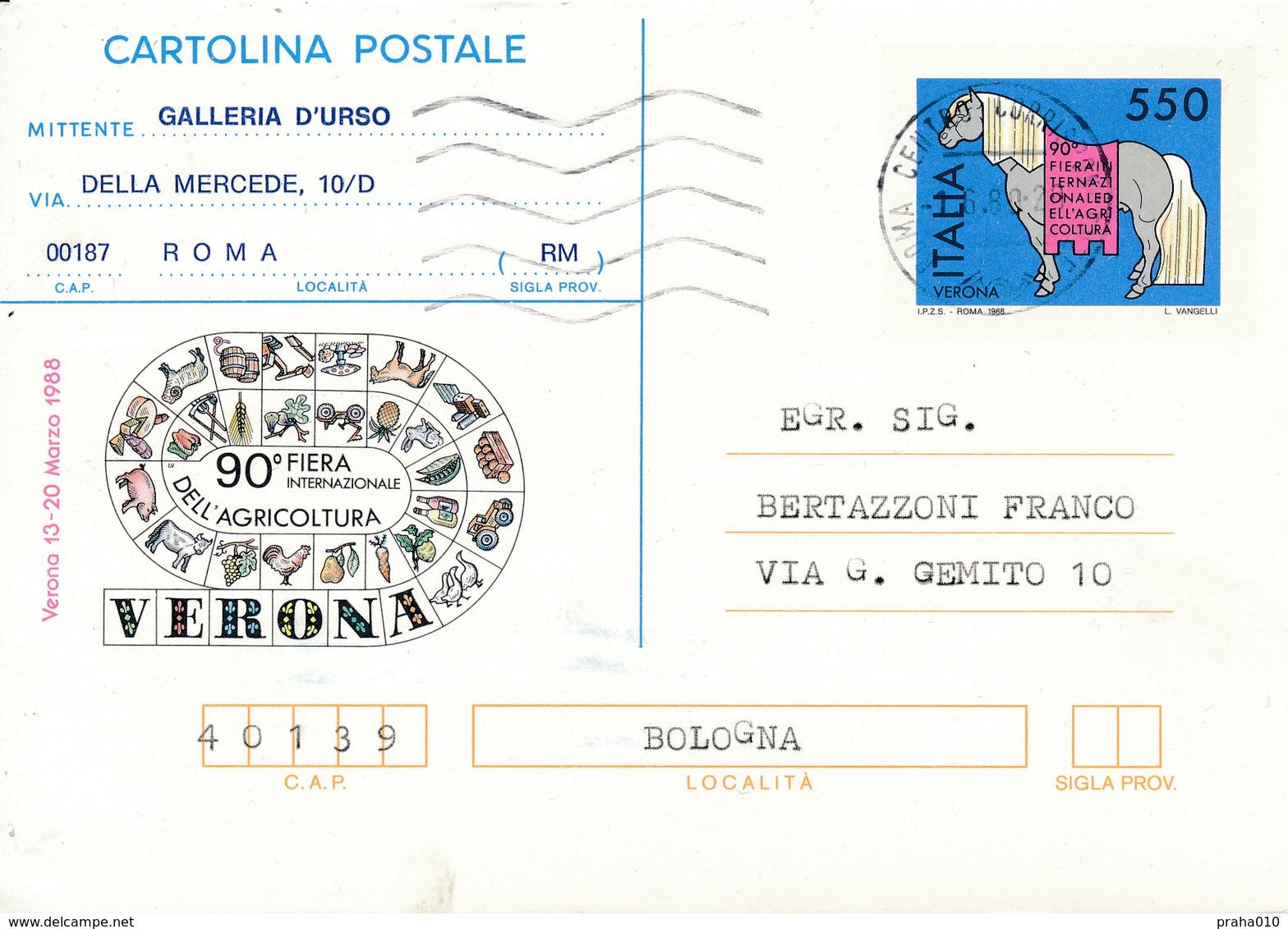 N0620 - Italy (1988) VERONA 1988 - 90th International Agricultural Fair - Landwirtschaft