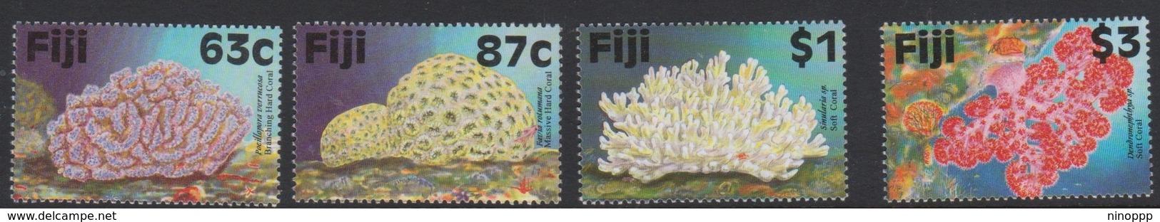 Fiji SG 982-985 1997 Reef Corals, Mint Never Hinged - Fiji (1970-...)