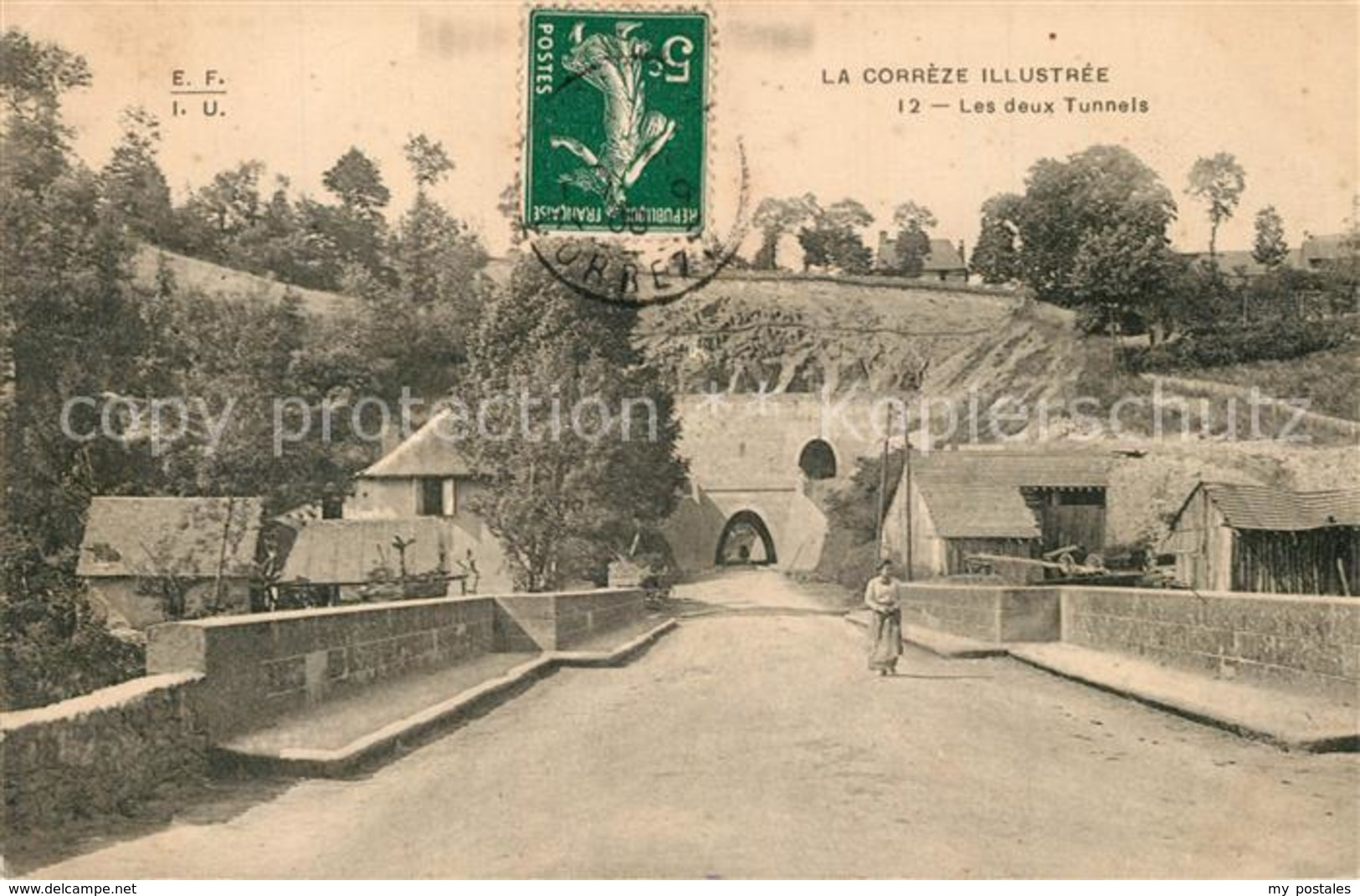 13497402 Tulle_Correze Les Deux Tunnels Tulle_Correze - Tulle