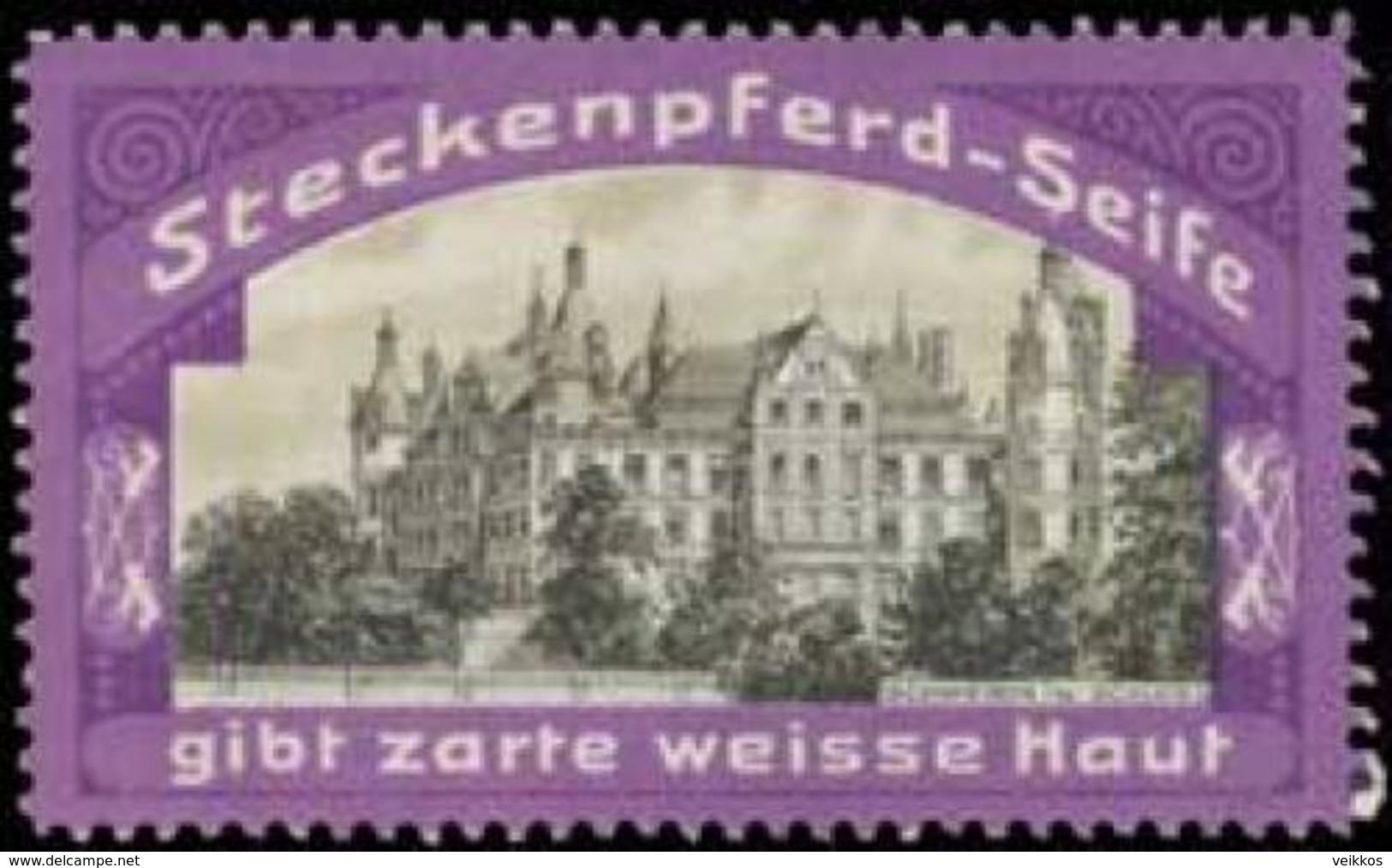 Radebeul: Schloß Schwerin Reklamemarke - Cinderellas
