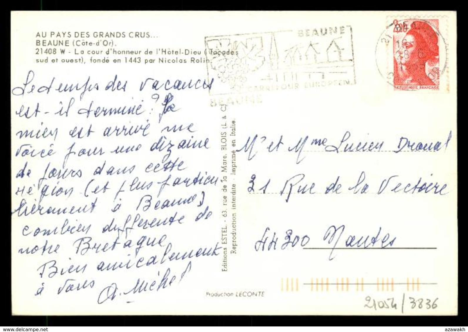 21 - Beaune - La Cour D'honneur De L'hotel-dieu #08421 - Beaune