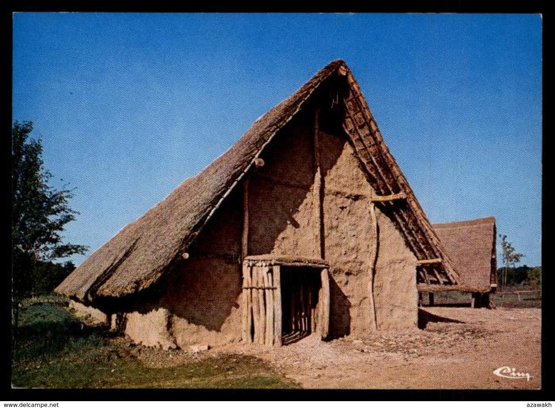 21 - Merceuil - Beaune Aire De Beaune Tailly Merceuil Autoroute A6 Archeodrome Hutte Néolithique #08418 - Autres Communes