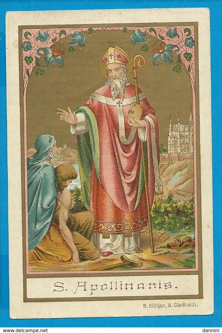 Holycard    St. Apollinaris - Images Religieuses