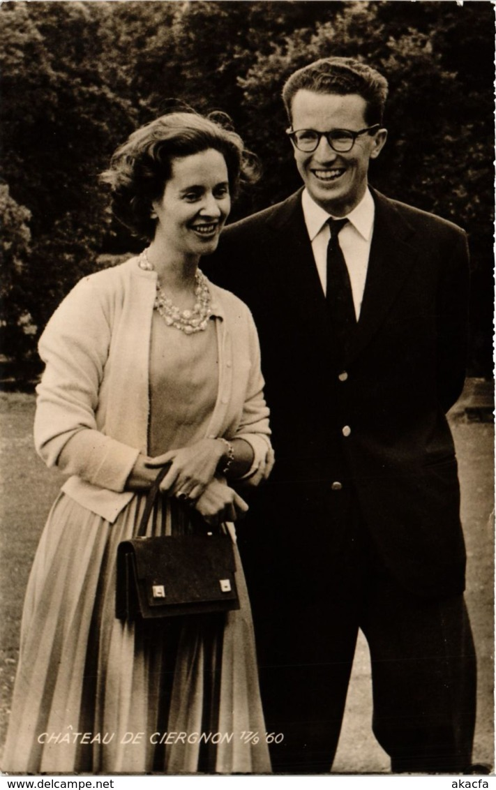 CPA ZM Boudewijn I En Dona Fabiola De Mora BELGIAN ROYALTY (827205) - Familles Royales