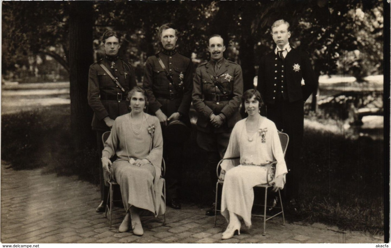 CPA La Famille Royale BELGIAN ROYALTY (827945) - Familles Royales
