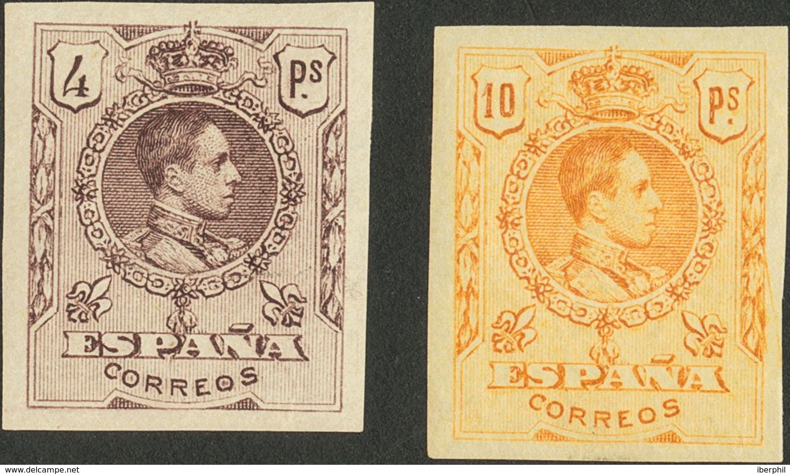 *267/80s. 1909. Serie Completa. SIN DENTAR. MAGNIFICA. Edifil 2019: 1.204,6 Euros - Spain