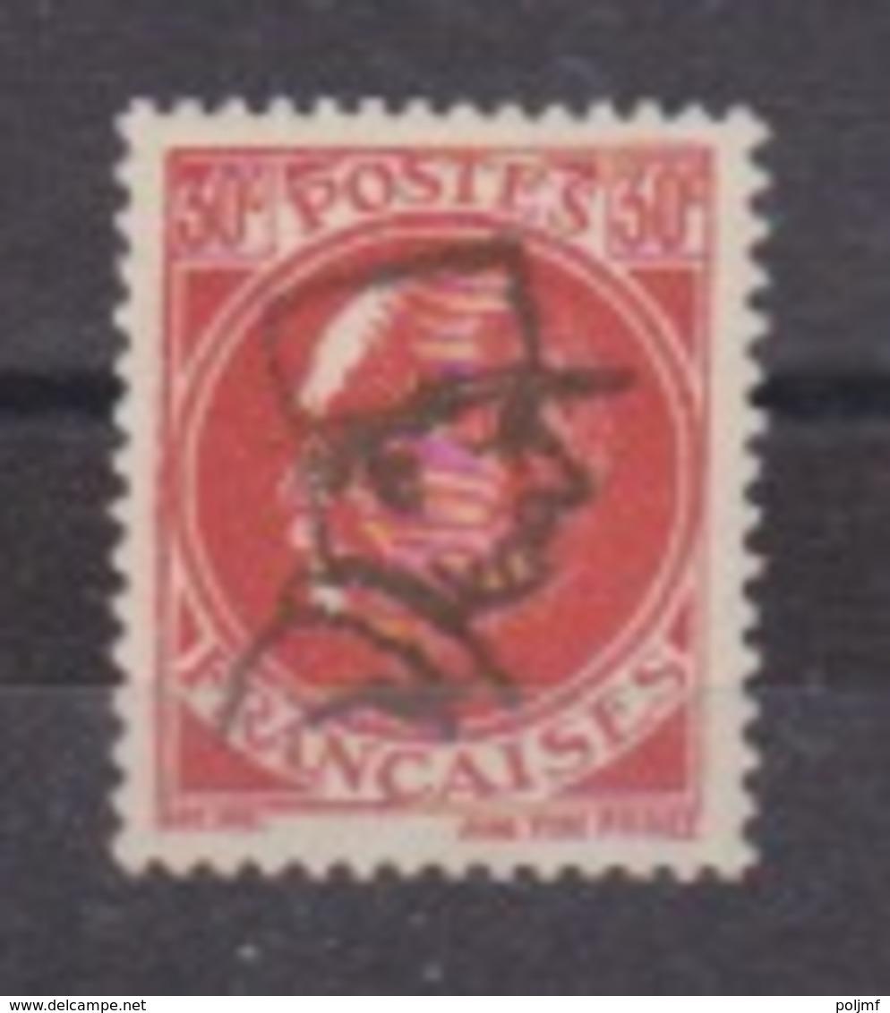 """TP Pétain 30c Rouge N° 506 Surchargé """"tête De De Gaulle"""" - Liberation"""