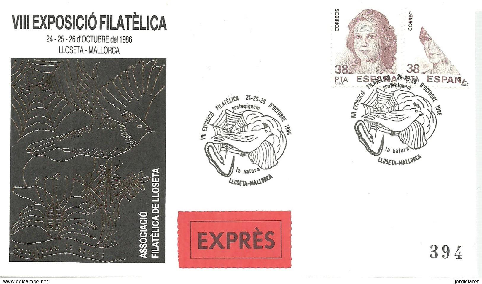MATASELLOS 1986 LLOSETA-MALLORCA - 1931-Hoy: 2ª República - ... Juan Carlos I