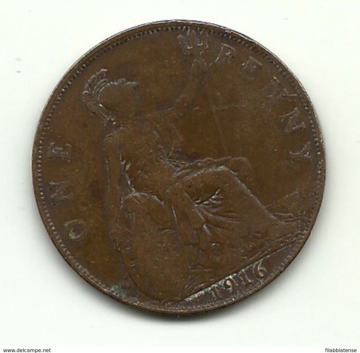 1916 - Gran Bretagna 1 Penny - Altri