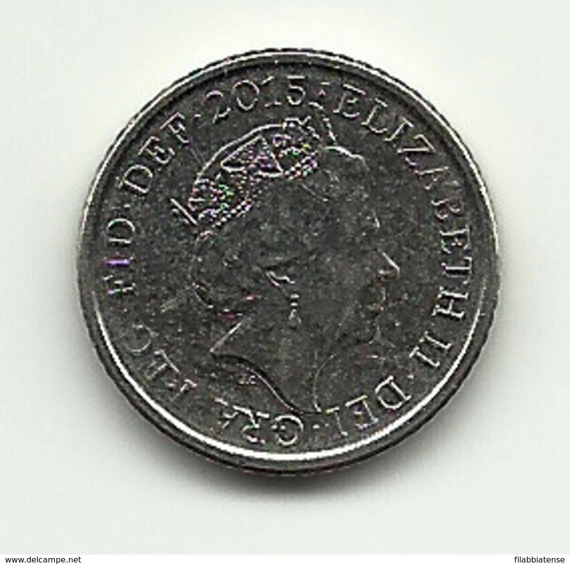 2015 - Gran Bretagna 5 Pence - 5 Pence & 5 New Pence