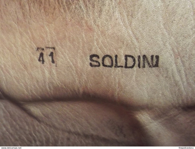 Stivaletti Da Lancio Vintage Paracadutisti Folgore E.I. Anni '80 Tg. 41 Usati - Uniforms