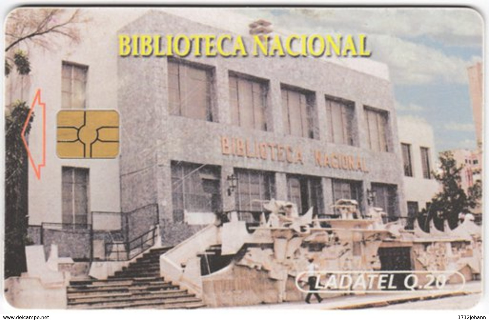 MEXICO A-646 Chip Telmex - Architecture, Building - Used - Mexiko