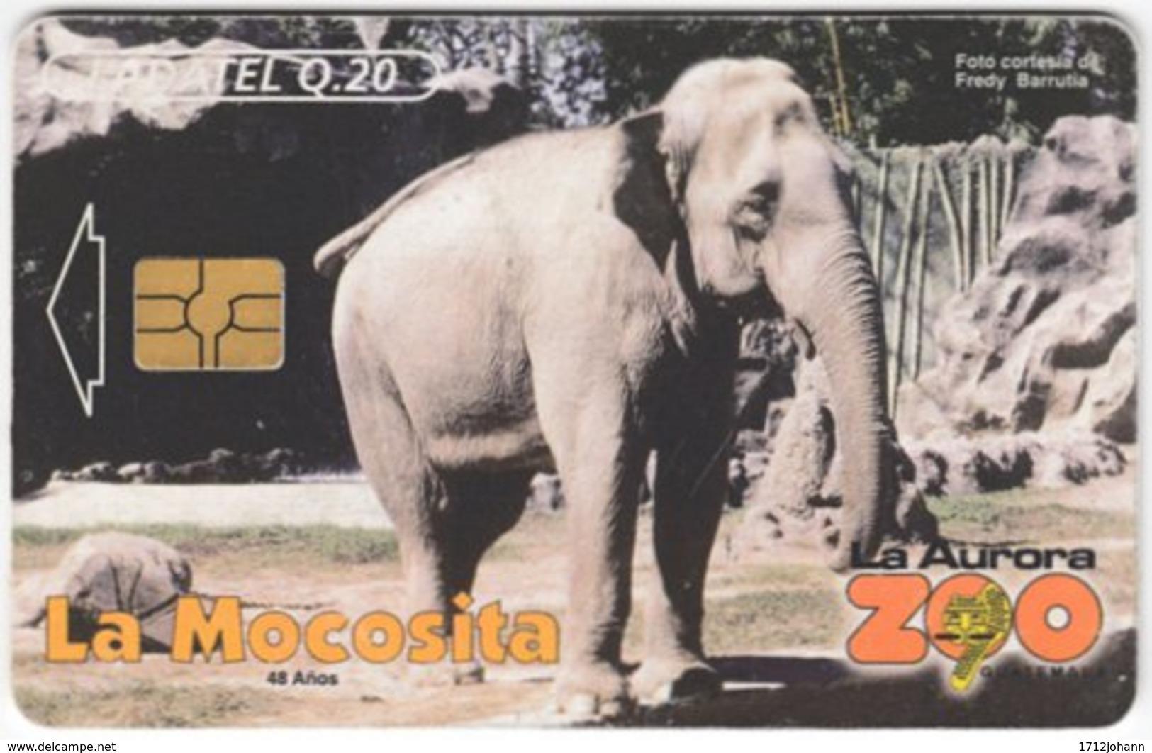 MEXICO A-670 Chip Telmex - Animal, Elephant - Used - Mexiko