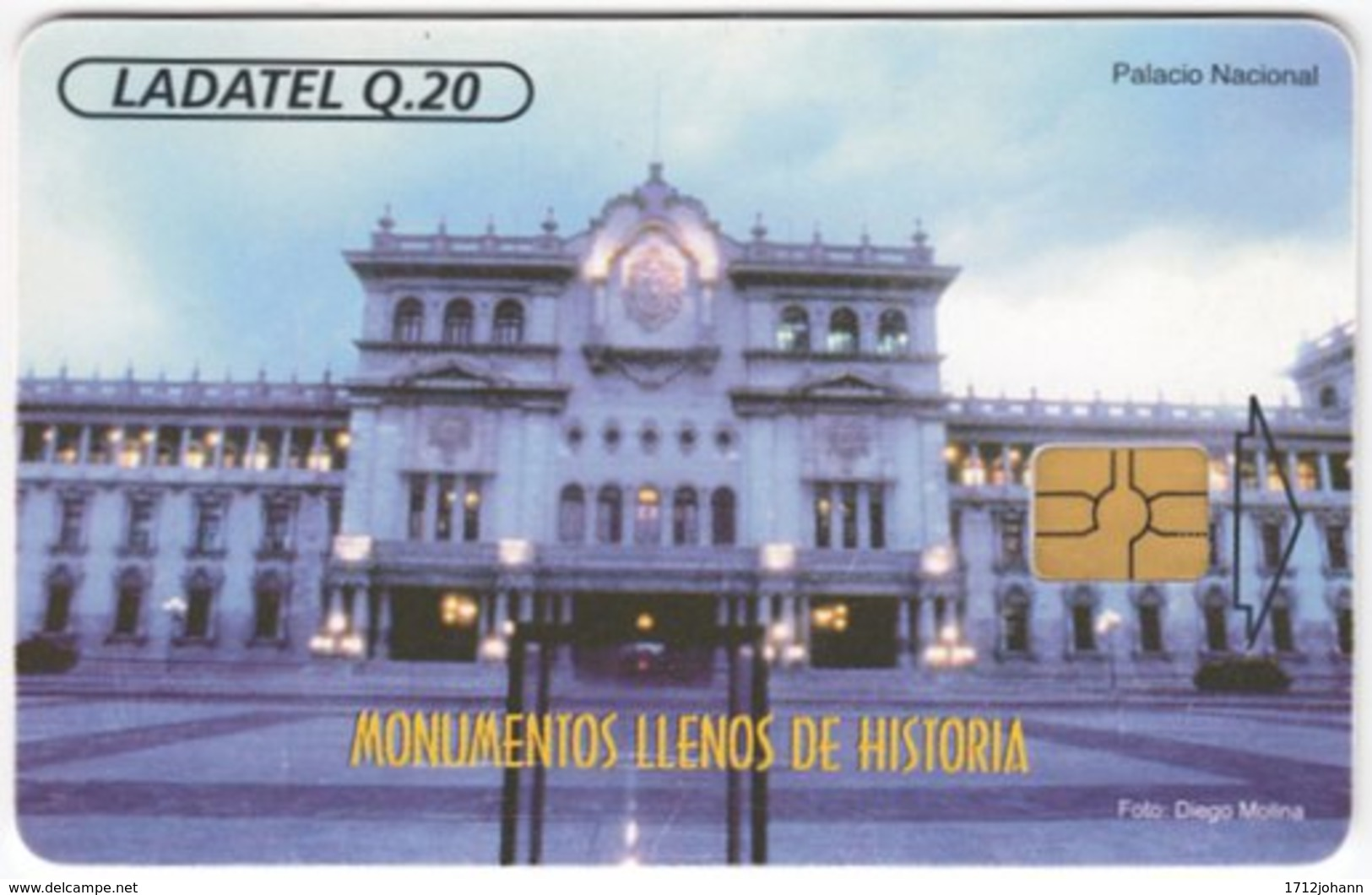 MEXICO A-674 Chip Telmex - Architecture, Building - Used - Mexiko