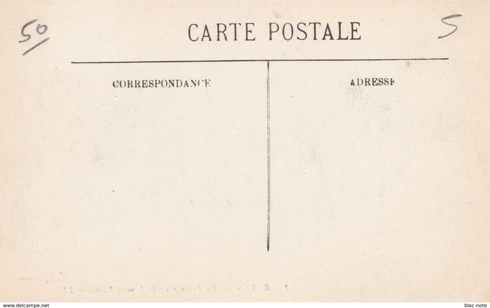 TRAIN OU GARE OU ASSIMILES ,5 Cartes - Cartes Postales