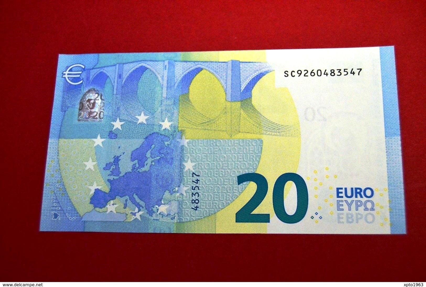 20 EURO ITALIA - S013 I4 - S013I4 - SC9260483547 - ITALY - UNC - FDS - NEUF - EURO