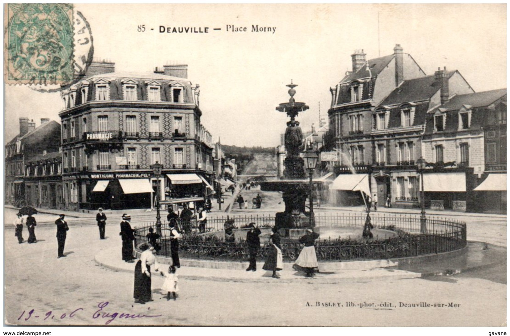 14 DEAUVILLE - Place Morny - Deauville