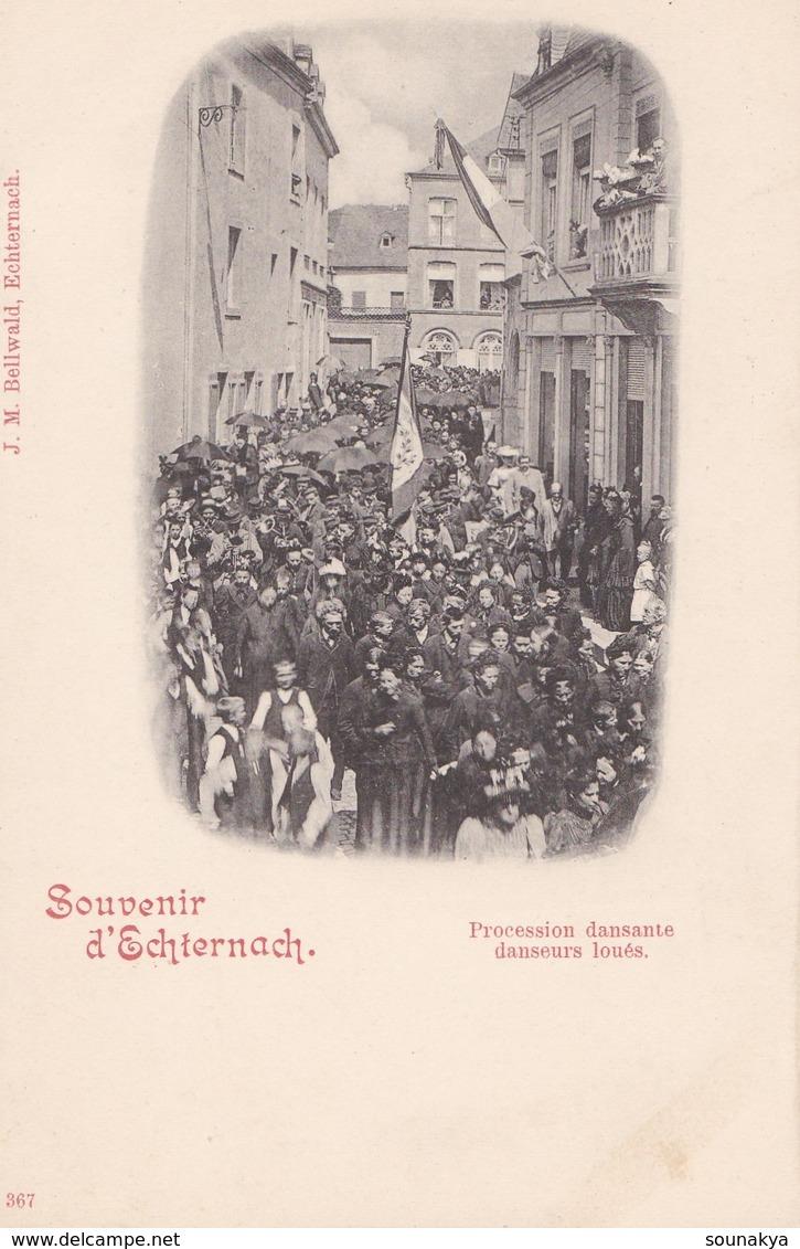 SOUVENIR  D' ECHTERNACH // Procession Dansante - Echternach