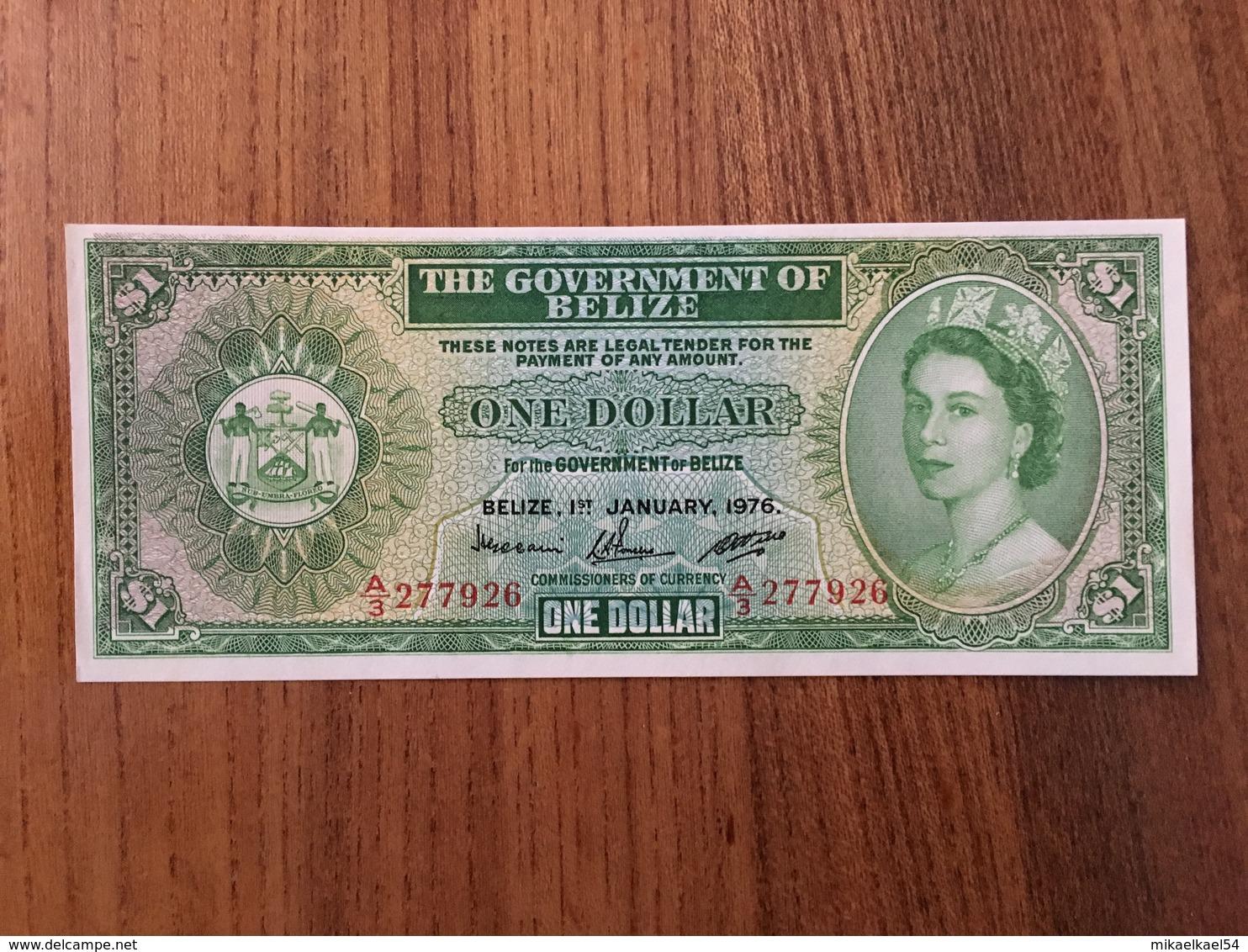 BELIZE 1 Dollar - P 33c - 1 January 1976 - UNC - Belize