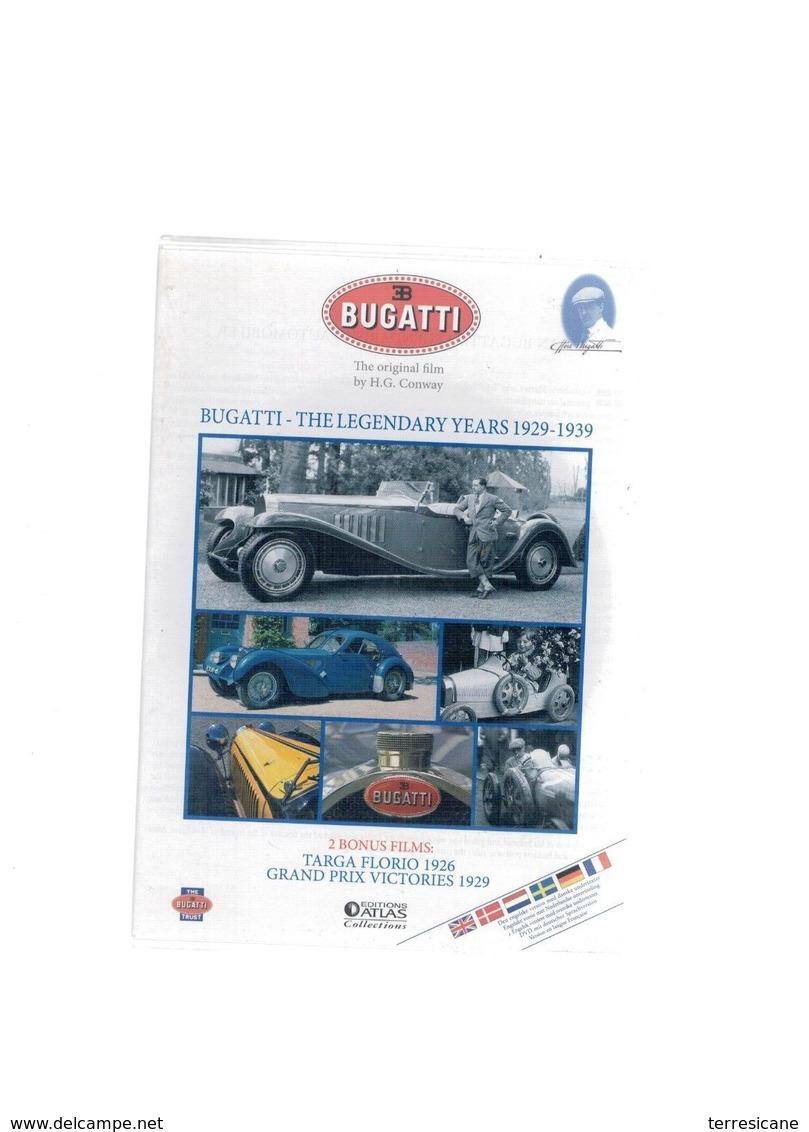 DVD BUGATTI THE LEGENDARY YEARS 1929-1939 ATLAS 2242123456 - DVD