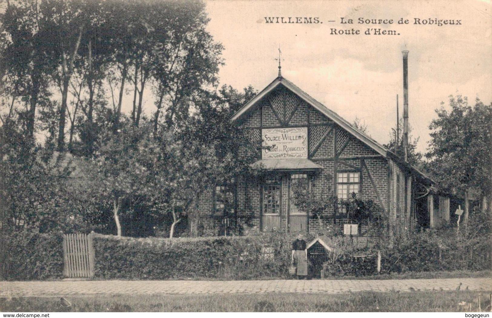 59 WILLEMS La Source De Robigeux Route D'Hem - France