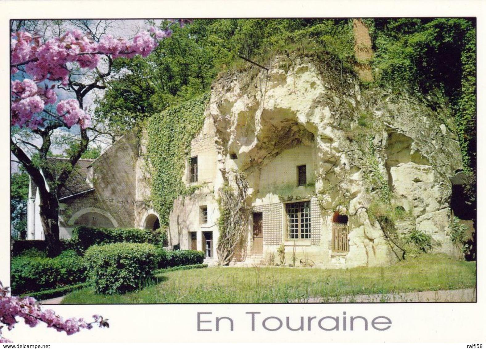 1 AK Frankreich * Höhlenhäuser Im Tal Der Loire - Département Maine Et Loire * - France