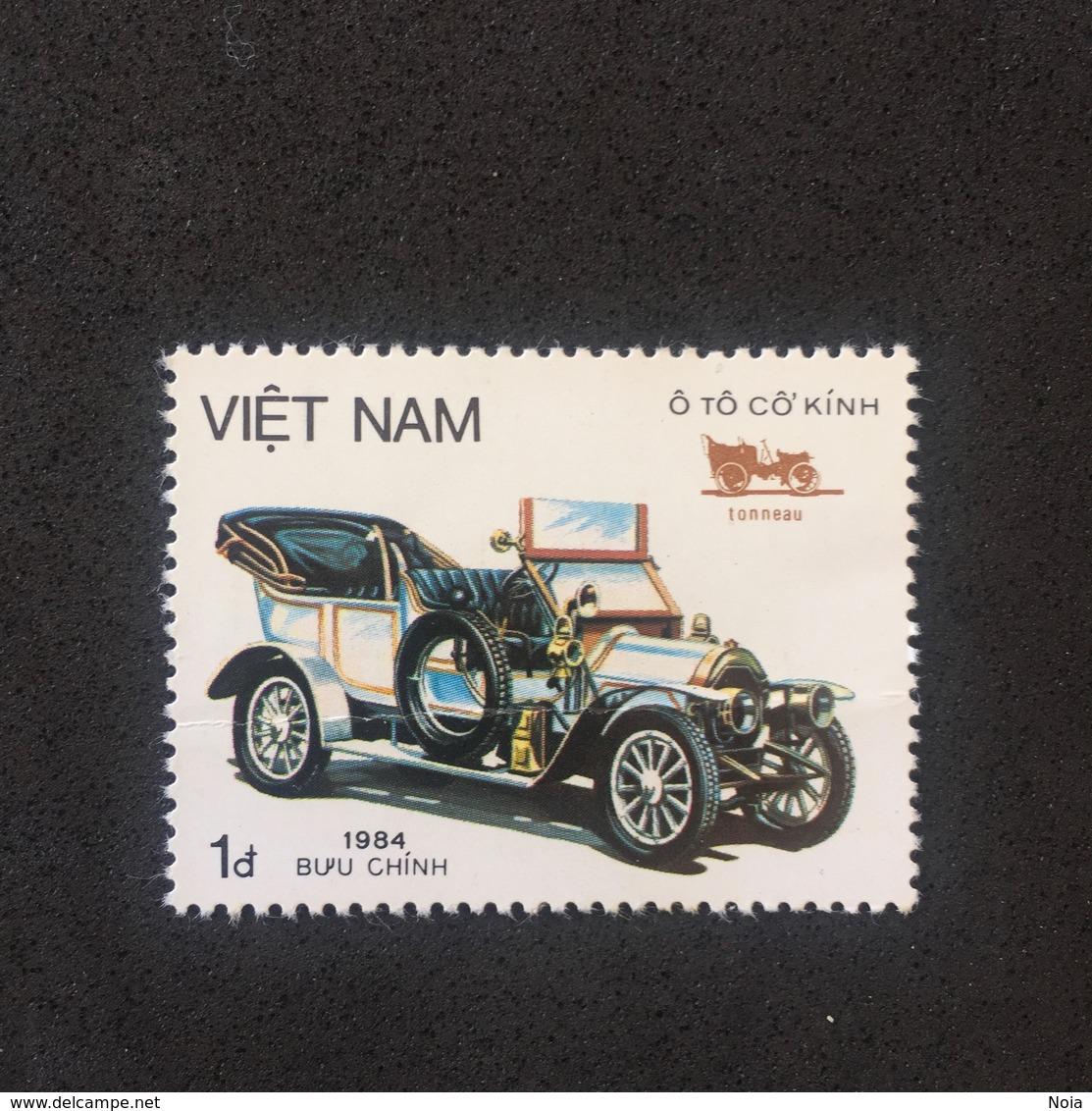 VIETNAM. MNH. D0203B - Cars